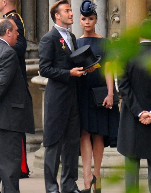 бекхэмы опозорились на королевской свадьбе