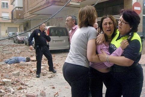 Землятресение в Испании 2011