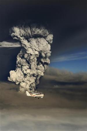Вулкан в Исландии 2011